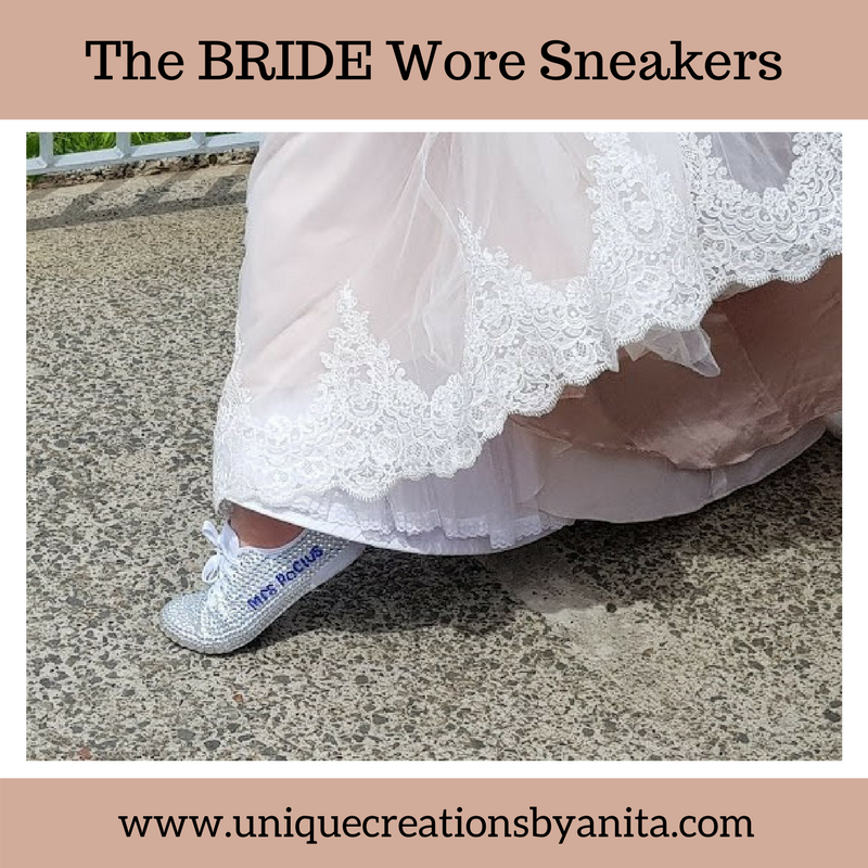How to make your own Wedding Sneakers