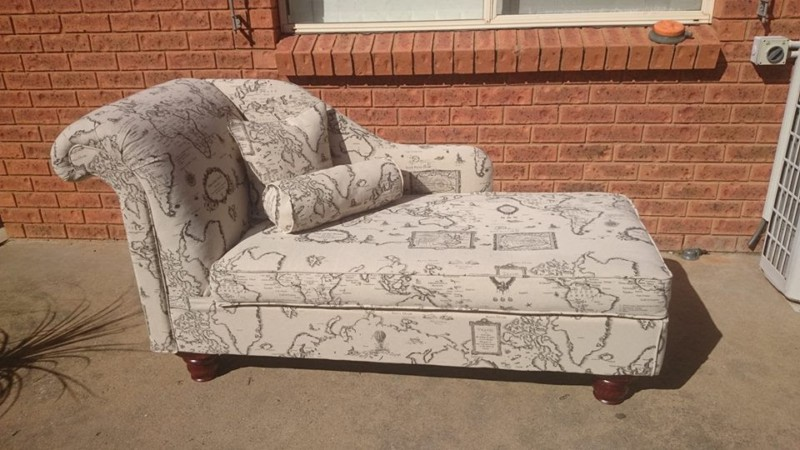 Chaise Lounge From Recycled Materials