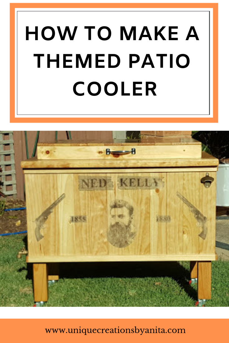 Patio Rolling Cooler Cart: How To Make A Patio Cooler
