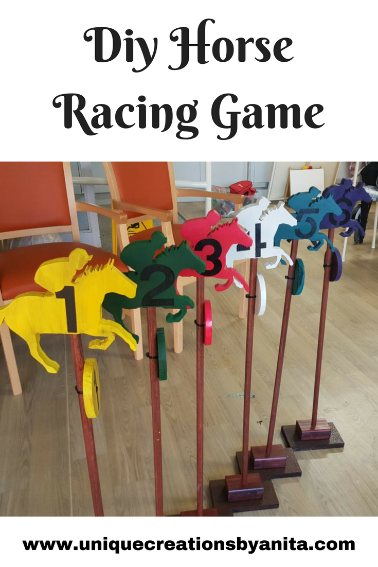 How To Make A Horse Racing Game Unique Creations By Anita