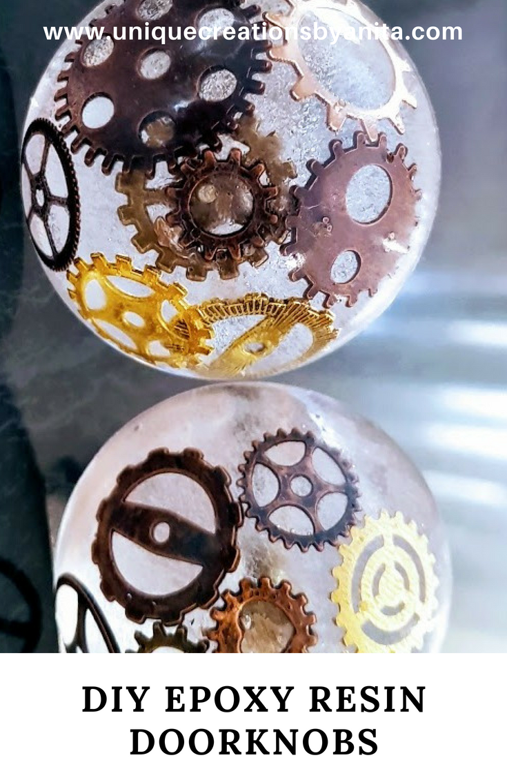 How to make Epoxy Resin Doorknobs (Steampunk) - Unique