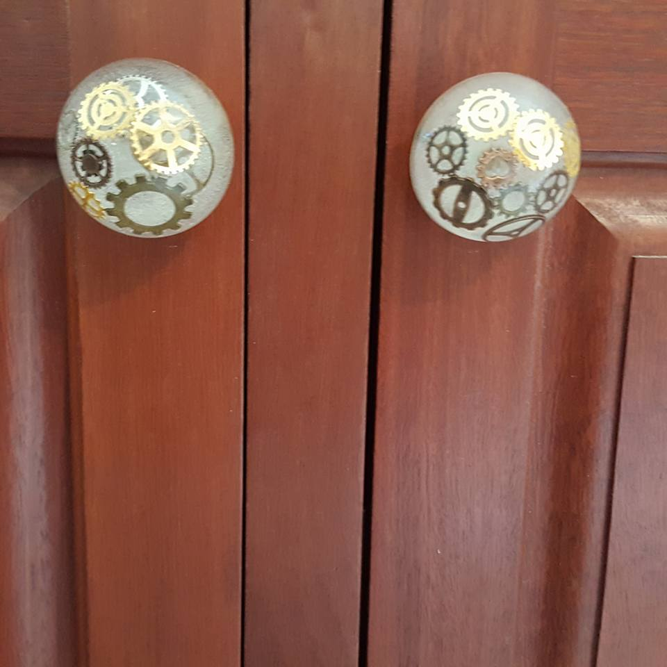 How To Make Epoxy Resin Doorknobs Steampunk Unique