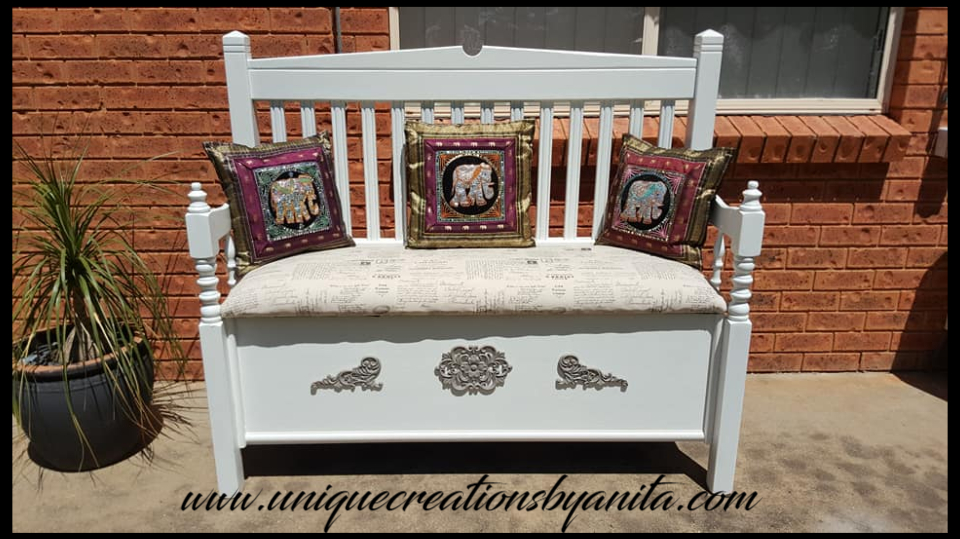 Astounding How To Make A Bench From Old Headboards Unique Creations Forskolin Free Trial Chair Design Images Forskolin Free Trialorg
